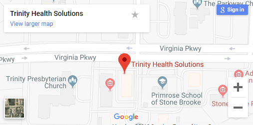 Map of McKinney TX Chronic Pain Care Providers